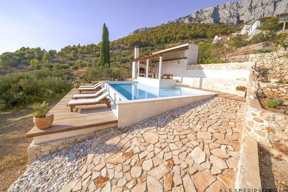 Villa Perka in Hvar with swimming pool